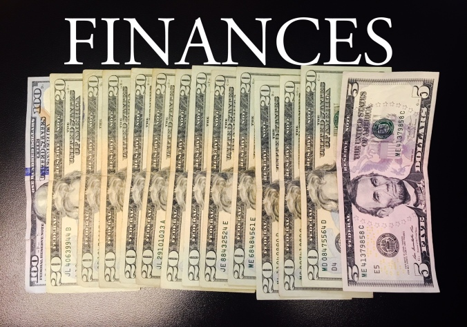 Money can cause you stress. It goes out faster than it comes in. Finances