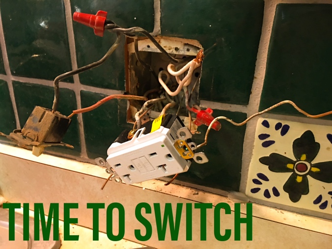 Time to Switch Kitchen Electrical