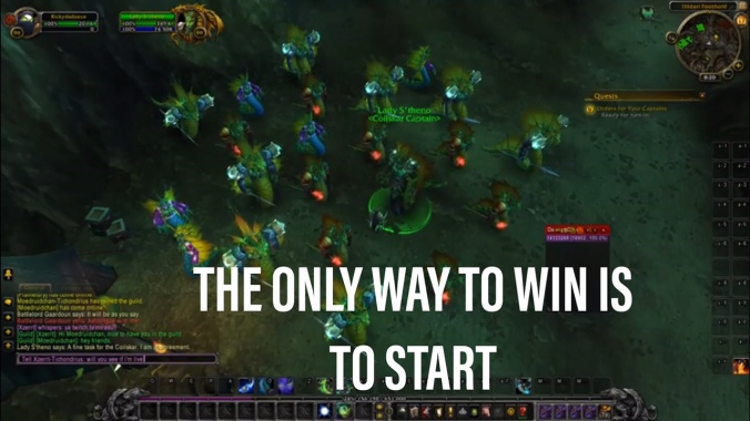 The Only Way To Win Is To Start WoW https://www.twitch.tv/rickytheduece