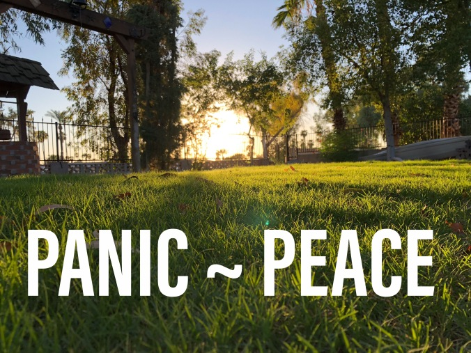 Panic Attacks and Peace